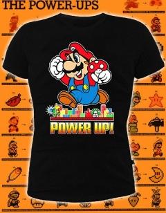 Мужская футболка Марио (светится в темноте и ультрафиолете)