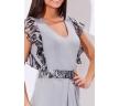 недорогое трикотажное платье