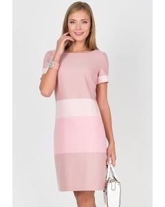 Хлопковое платье лилового цвета Emka Fashion PL-422/beteni