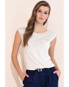 Летняя блузка со вставкой из сетки Zaps Lonnie