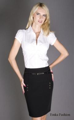 Черная элегантная юбка   170-emporio