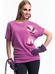 Блузка цвета фуксия Zaps Olga