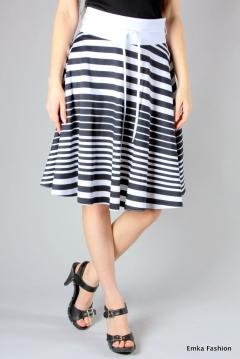 Черно-белая юбка | 303-vivien